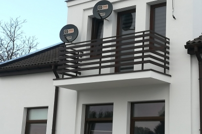 Balustrady stalowe - Zduńska Wola