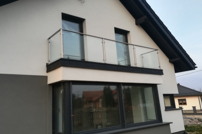 Balustrady szklane - Zduńska Wola